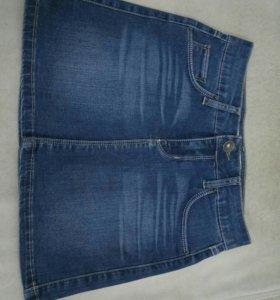 Новая джинсовая юбка MAG JEANS XS
