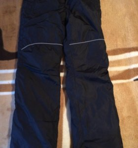 Зимние брюки на флисе