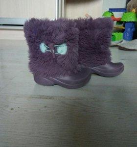 Сапожки Crocs непромокаемые