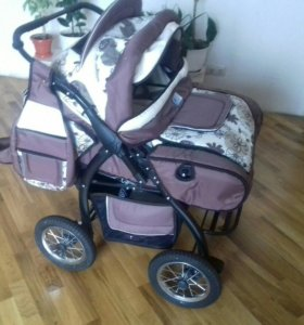 коляска для двойняшек.