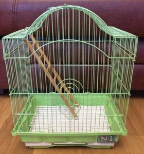 Новая клетка для попугая