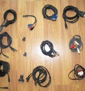 Набор аудио-видео кабелей и переходников