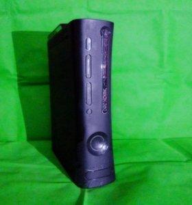 XBOX 360+2 геймпада+30 игр