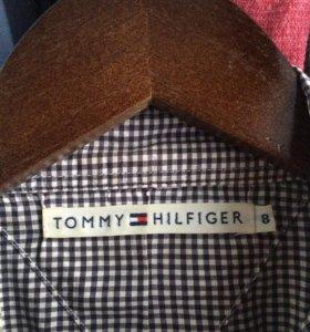 Клетчатая рубашка Tommy Hilfiger