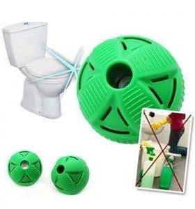 Магнитные шары для чистки туалета.