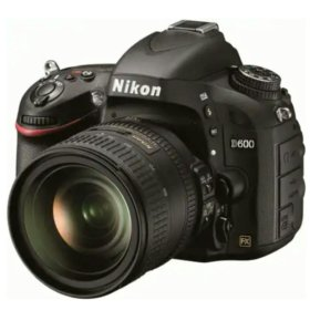 Фотоаппарат NIKON D 600 и объективы