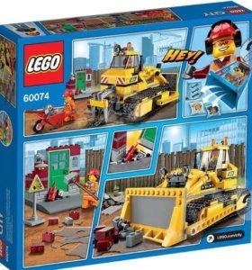 Lego city Бульдозер 60074