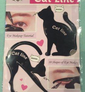 Трафарет для макияжа глаз 👁