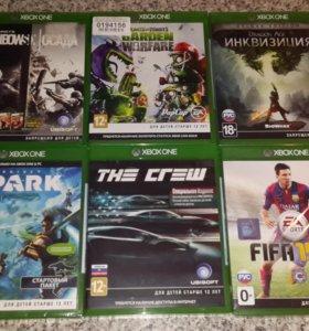 Продам или поменяю игры на Xbox ONE