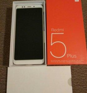 Новый Xiaomi Redmi 5 Plus 18:9  3x32