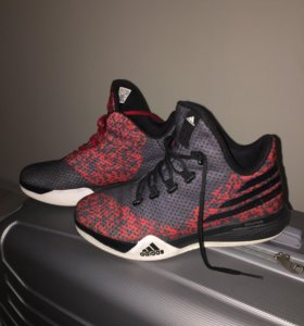 Аdidas Light Em Up 2 - Black/Red Basketball Shoes
