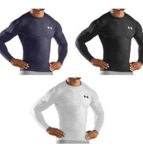 Бренд спортивная футболка с длинным рукавом