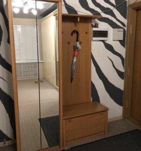 Прихожая ( шкаф для обуви+ вешало+тумба)