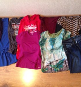 Пакет одежды свитер одежда джинсы платье свитшот