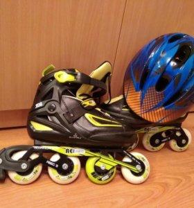Ролики+ шлем и защита