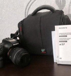 Цифровой фотоаппарат Sony SLT-A57
