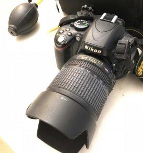 Фотоаппарат NIKON D5100+объектив 18-105