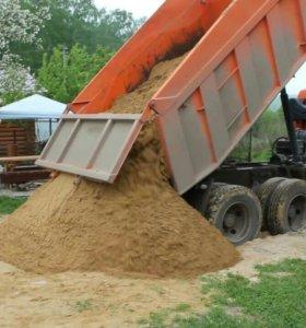 Доставка песка,земли,щебня,дров,грунта,торфа,и.т.д