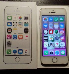 Iphone5s 16gb silver
