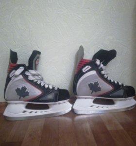 Хоккейные коньки Атеми GOAL H-331