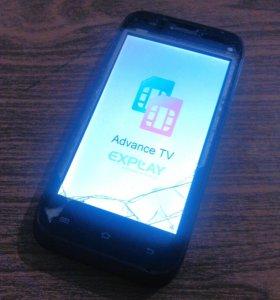 Explay Advance TV на запчасти или под восстановл.