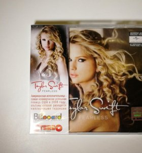 CD альбом Taylor Swift - Fearless