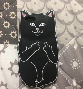 Чехол кошка iPhone 6 , 6s