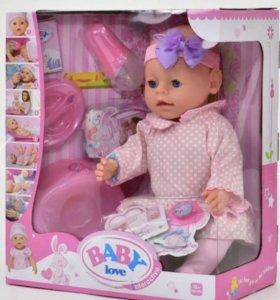 Кукла беби борн 9 функций