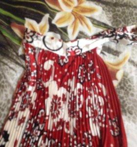Платье,в гармошку