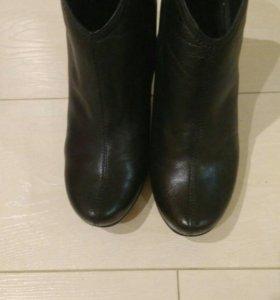 Ботинки женские кожа р-р 39-40