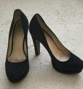 Туфли замшевые, 38 размер