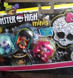 Новый набор monster high minis