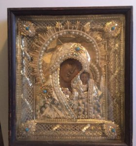 Икона «Казанская Божья Матерь», 19 век
