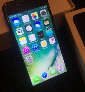 Айфон 7 чёрного цвета копия