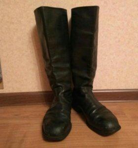 Хромовые сапоги 40 размер