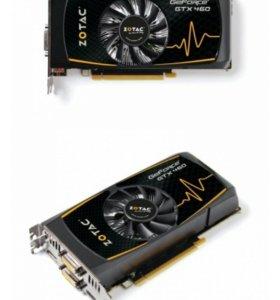 Видеокарта Zotac NVIDIA GTX 460 SE DDR5 1GB, 256b