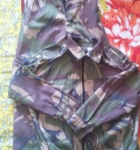 Камуфляжный костюм 6-7 лет