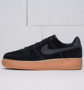 Кроссовки Nike Air Force 1 замша