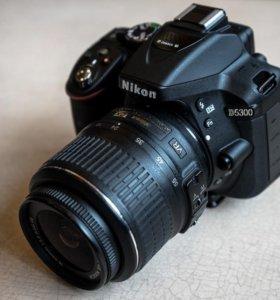 Nikon d5300 kit 18-55 vr