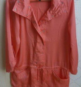 Блузка летняя, ширина по плечам - 36 см