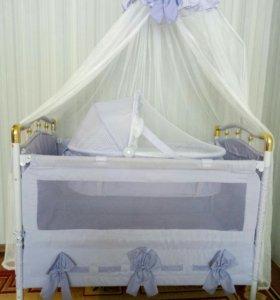 Кроватка для новорожденного
