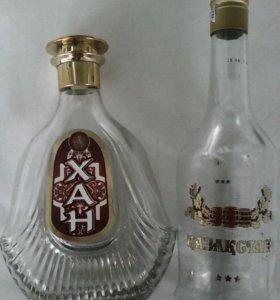 бутылки для поделок и пр.