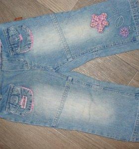 Джинсовые штаны для девочки