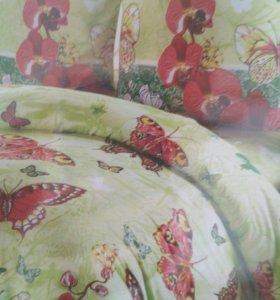 2 спальный комплект постельного белья.