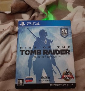 Rise of the tomb raider ps 4