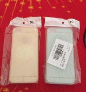 Чехлы на айфон 5/5s/SE цена за оба