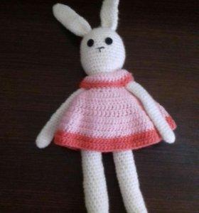 Заяц вязанный