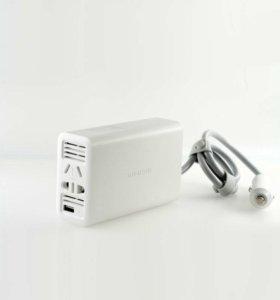 Зарядное инвертер Xiaomi Car Inverter USB 220V