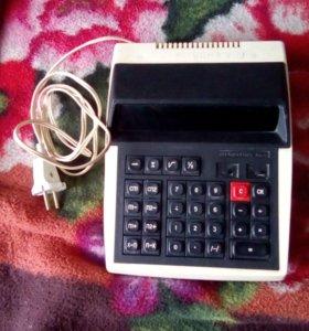 Колькулятор эликтричемкий