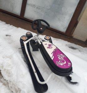 Снегокат детский